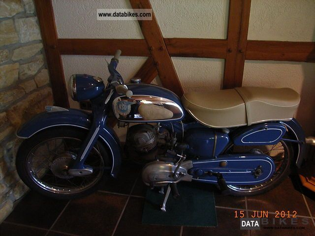 NSU  Superfox 1955 Vintage, Classic and Old Bikes photo
