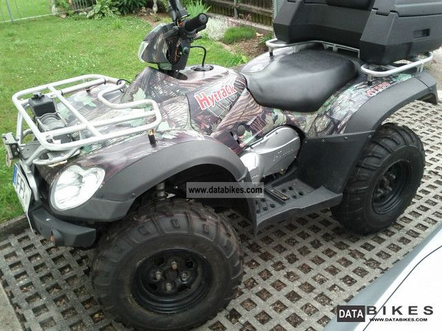 2009 Linhai  520 EFI 4x4 with a winch and snow plow Motorcycle Quad photo