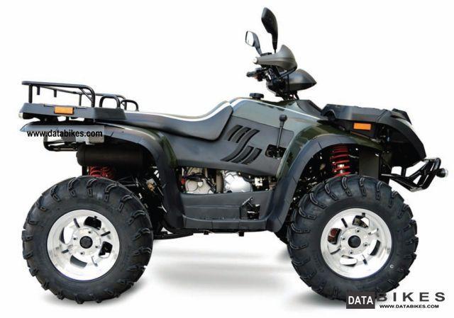 2012 Linhai  ATV 420 4x4 all-wheel carrier LoF / presenter Motorcycle Quad photo