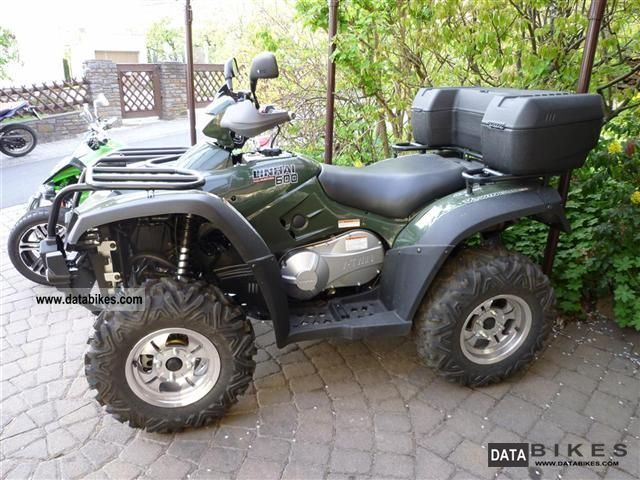 2012 Linhai  ATV 600 EFI 4X4 VKP / LoF Motorcycle Quad photo