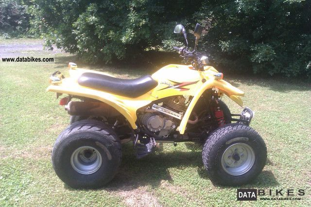 2004 Adly  300 s Motorcycle Quad photo