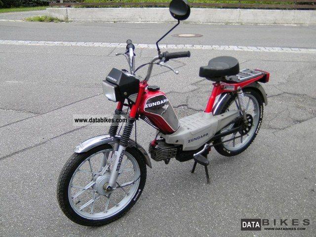 1985 Zundapp  Zündapp Star 2 Motorcycle Motor-assisted Bicycle/Small Moped photo