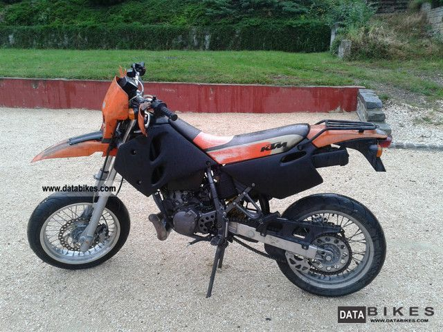 2000 KTM  125 SM Motorcycle Super Moto photo