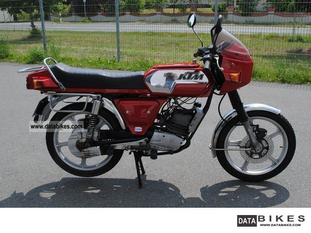 1980 KTM  50 RS Former moped rarity Motorcycle Motor-assisted Bicycle/Small Moped photo