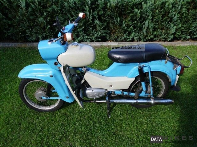 Simson  SR 4-2/1 1970 Vintage, Classic and Old Bikes photo