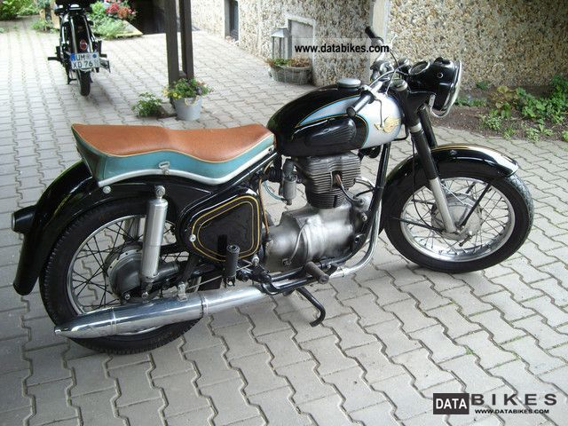 Simson  Awo Sports 1960 Vintage, Classic and Old Bikes photo
