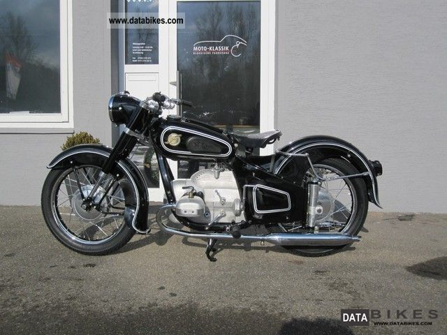 BMW  Governor Hoffman MP 250-2 new condition 1954 Vintage, Classic and Old Bikes photo