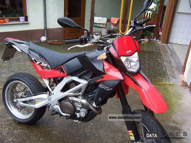 2008 Aprilia  SXV Motorcycle Super Moto photo