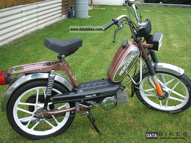1987 Herkules  Prima 5 Motorcycle Motor-assisted Bicycle/Small Moped photo