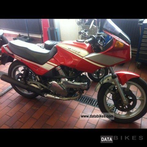 1986 Cagiva  Alazzurra Motorcycle Sports/Super Sports Bike photo