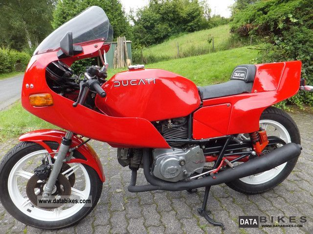 1989 Ducati  Pantah 500 Motorcycle Sports/Super Sports Bike photo