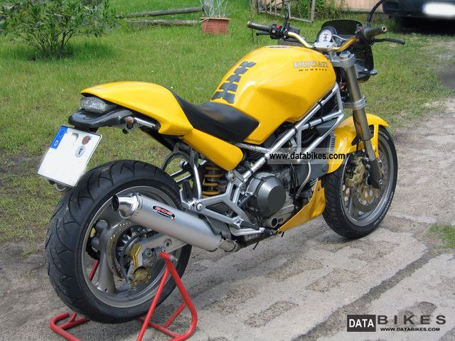 1994 Ducati M900 Monster Page - John Fairstein