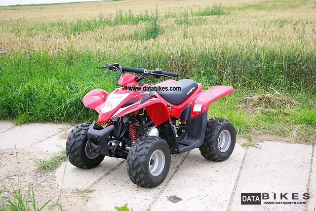 2010 Kymco  MAXXER 50 Motorcycle Quad photo
