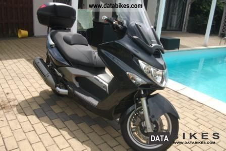 Kymco  xciting 500i ABS 2009 Scooter photo