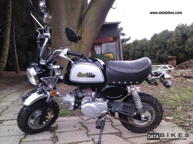 2008 Gorilla  Quick Foot 50cc Motorcycle Motor-assisted Bicycle/Small Moped photo