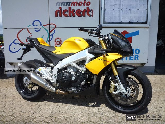2012 Aprilia  TUONO 1000 R V 4 APRC YELLOW-SPECIAL Motorcycle Motorcycle photo