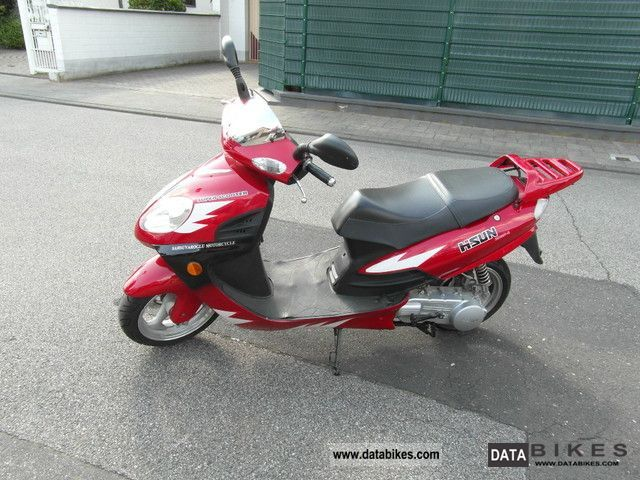 2007 Hyosung  Hisun HS150 T Motorcycle Scooter photo