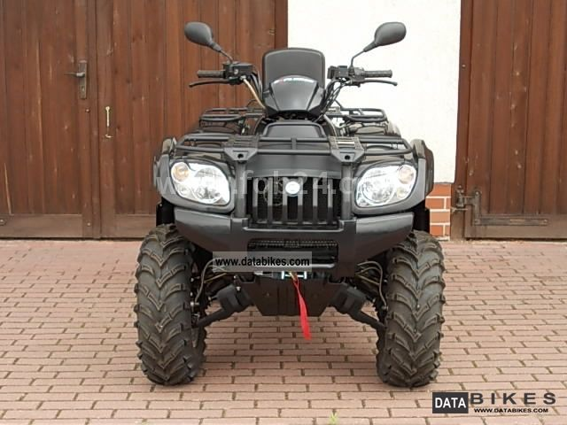 2012 CFMOTO  CF500-2A 4x4 with LoF Motorcycle Quad photo