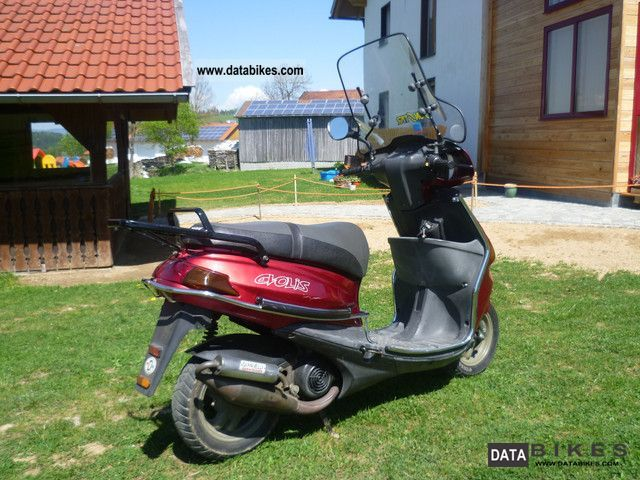 1996 MBK  Evolis Zest 80 cc Motorcycle Scooter photo