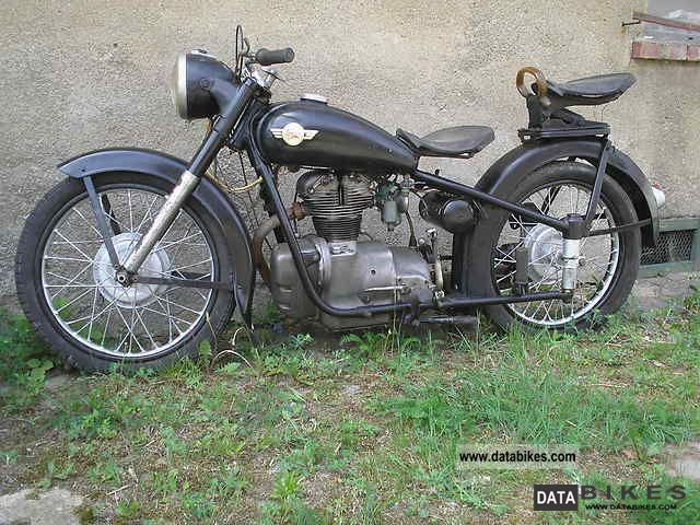 Simson  AWO D 1956 Vintage, Classic and Old Bikes photo