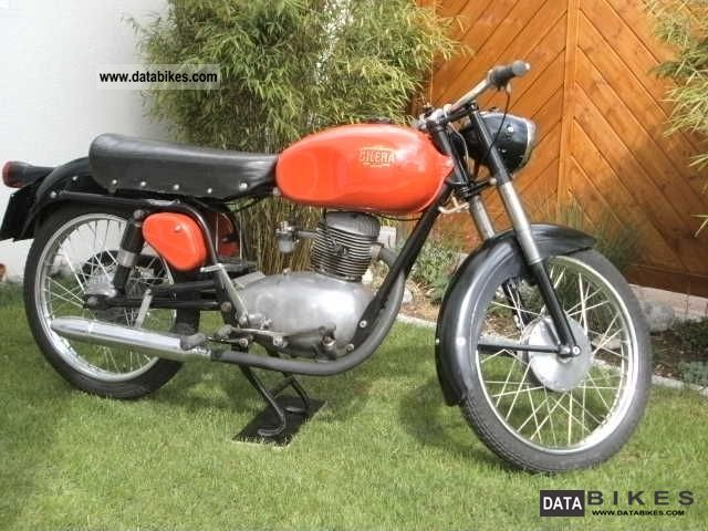 Gilera  150 Sports 1958 Vintage, Classic and Old Bikes photo