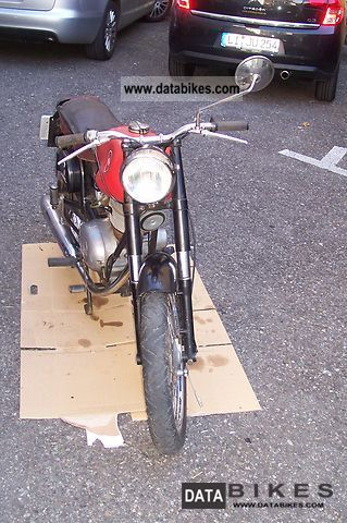 Gilera  Giubileo 98 1953 Vintage, Classic and Old Bikes photo