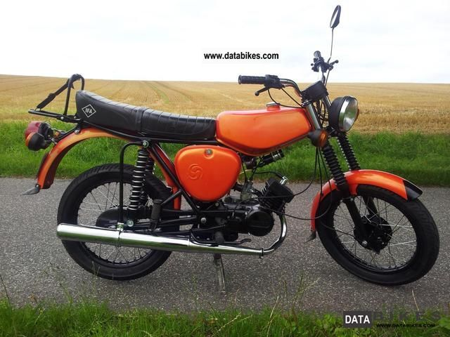 Simson  S51 completely rebuilt 1975 Vintage, Classic and Old Bikes photo