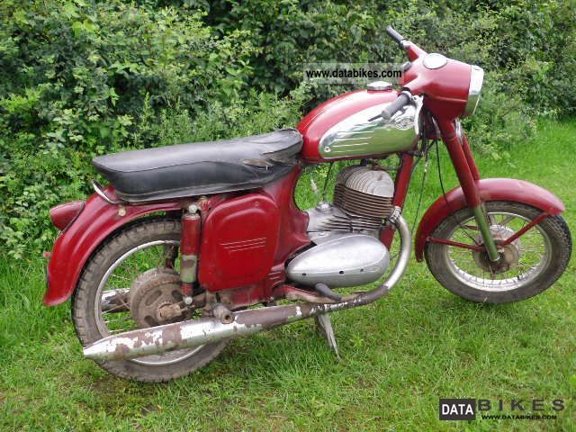 Jawa  354 1969 Vintage, Classic and Old Bikes photo