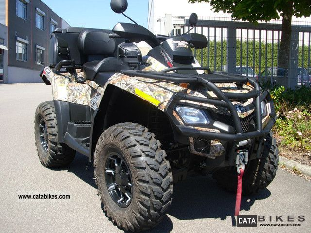 2010 Can Am  Outlander 650 MAX XT LOF-approval \ Motorcycle Quad photo