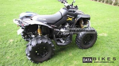 2008 Can Am  800X Bombardier trunk / top case TUV Motorcycle Quad photo
