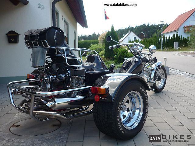 1993 Boom  Chopper A2 Motorcycle Trike photo