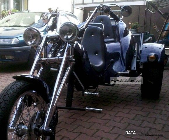 1998 Boom  Highway Motorcycle Trike photo