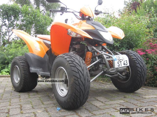 2006 Aeon  Goes 220 Motorcycle Quad photo