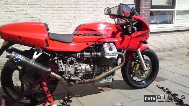 1992 Moto Guzzi  daytona 1225ccm Motorcycle Sports/Super Sports Bike photo