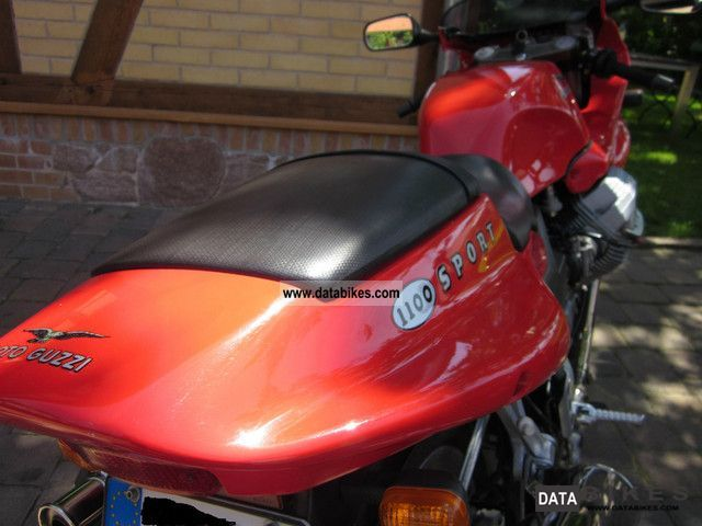 1999 Moto Guzzi  1100 Sport Motorcycle Sports/Super Sports Bike photo