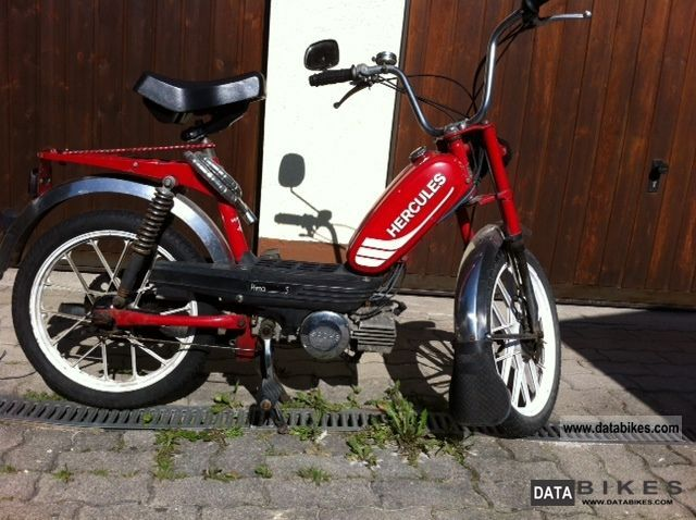1982 Herkules  Prima 5 Motorcycle Motor-assisted Bicycle/Small Moped photo