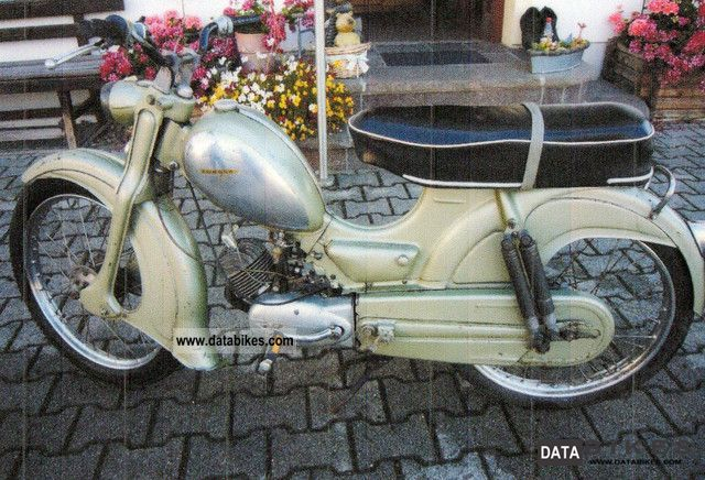 Zundapp  Zündapp Falconette 1957 Vintage, Classic and Old Bikes photo