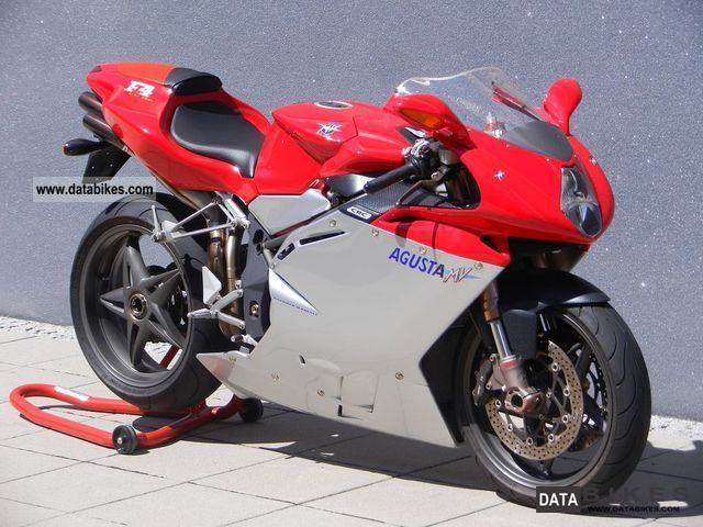 2002 MV Agusta  F4 750 Motorcycle Sports/Super Sports Bike photo
