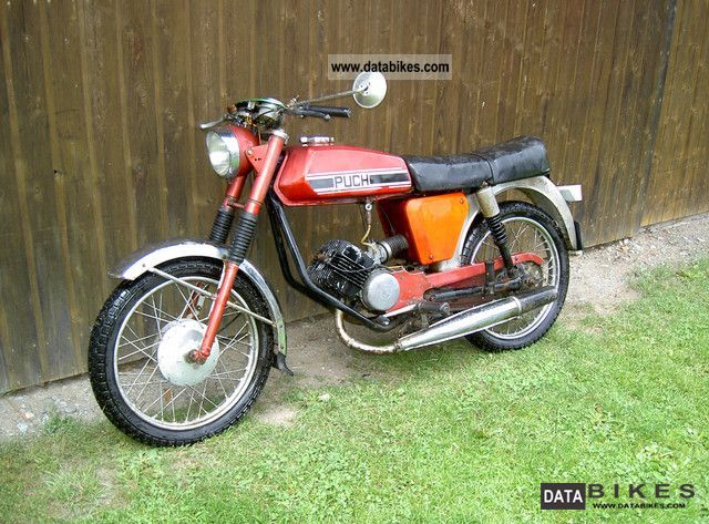 1972 Puch  M50 Racing Motorcycle Motor-assisted Bicycle/Small Moped photo