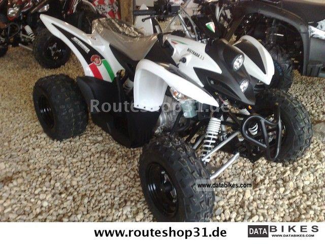 Aeon  Bistrada 5.3 Moto Bionics OFFROAD 2012 Quad photo