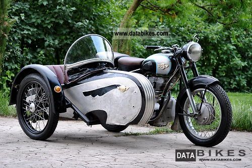 1961 Simson  AWO 250 Sport with Stoye sidecar Motorcycle Combination/Sidecar photo