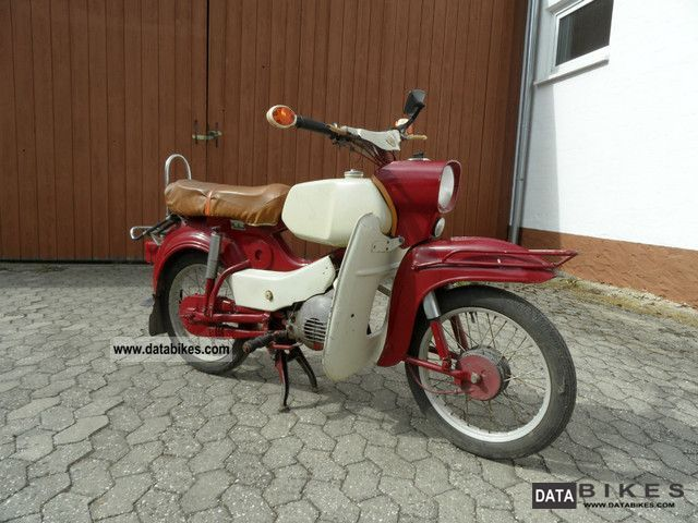 1974 Simson  Hawk Motorcycle Motor-assisted Bicycle/Small Moped photo