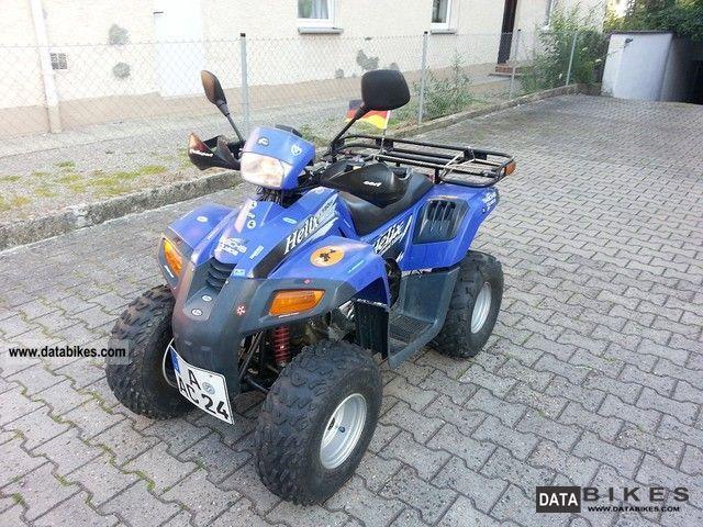 2004 Dinli  Helix 150 Motorcycle Quad photo