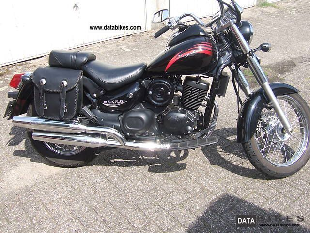2010 Daelim  VL125DaystarF1 Motorcycle Chopper/Cruiser photo