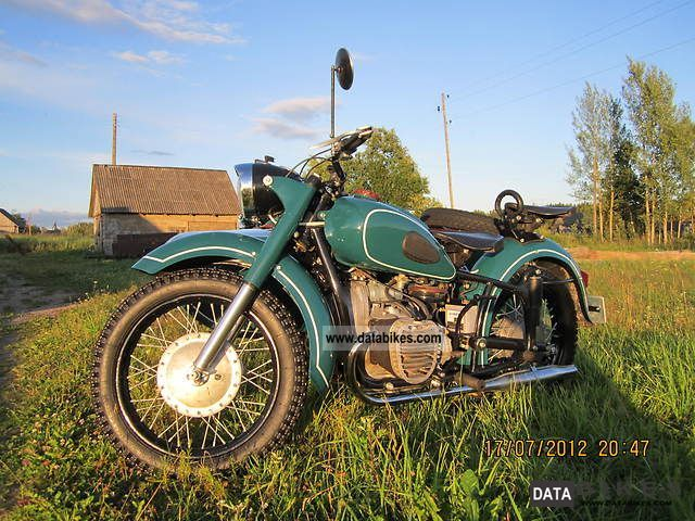 Ural  K750M 1967 Vintage, Classic and Old Bikes photo