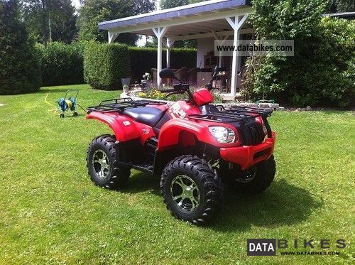 2011 Explorer  ATLAS EXPLORER 2x4 500cc Motorcycle Quad photo