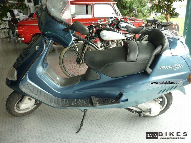 1999 piaggio hexagon lx motorcycle scooter photo