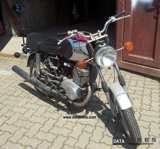 1978 Mz  TS Motorcycle Motorcycle photo