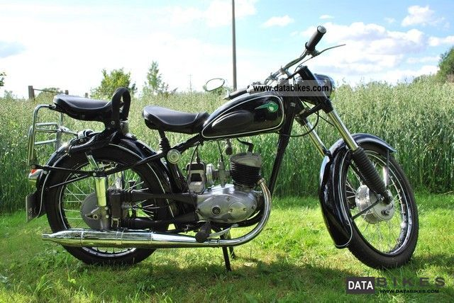 1958 Mz  RT restored 125/2 TÜV again Motorcycle Motorcycle photo