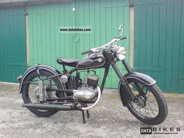 Mz  RT 125/2 1958 Vintage, Classic and Old Bikes photo